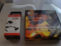 Sistem wireless pt instrumente de suflat, acordeoane,chitare