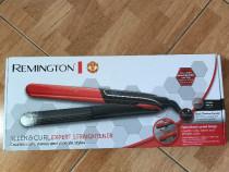 Placa de par Remington S6755 Sleek & Curl Manchester United