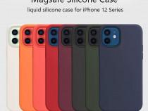 Iphone 12 MINI/PRO /MAX Husa X LEVEL Slim Catifea Interior
