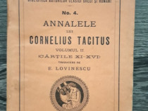 Carte veche cornelius tacitus analele romane