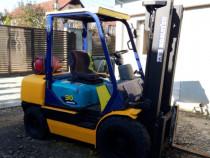 Stivuitor Komatsu, 3 tone, anvelope noi, revizii facute
