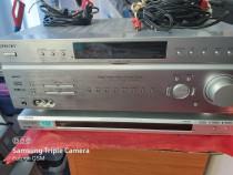 Sony receiver, cd/dvd, 2 boxe