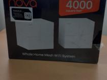 Sistem wireless mesh Tenda Nova MW6, Gigabit, kit cu 2 nodur