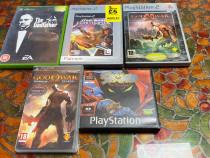 Joc PlayStation2 PSP Xbox God of War Spaw Godfather Star War