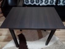 Masa din lemn bucătărie Wenge