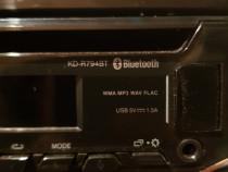 Casetofon jvc USB, AUX, CD, BT