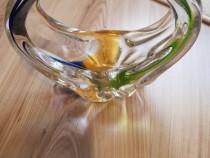 Cos din sticla de murano