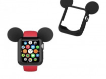 Husa protectie Apple Watch 38mm, Seria 1, 2, 3 carcasa silic