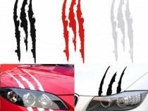 Sticker auto zgarieturi ghiare claws