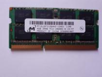 Memorie RAM laptop 4GB DDR3 Micron PC3-10600S 1333 MHZ