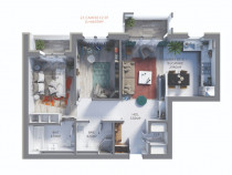 Apartament 3 camere 66mp utili - Maurer Residence Sighișoara