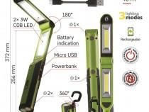 Lanterna 670 Lumeni profesionala import Cehia.Tva