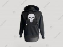 Hanorac The Punisher Alb pentru copii/ jocuri video/desene