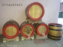 Butoaie din lemn diferite capacitati