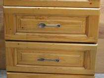 Dulap lemn masiv cu 4 sertare; Comoda; Bufet; Pantofar
