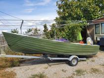 Barca Nufar 500 +Honda 40 cp