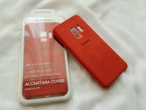 Husa Originala pt Samsung Galaxy S9 Noua!Alcantara Cover