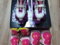 Role cu 4 roti SFR Storm Skate + set cadou