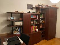 Biblioteca + dulap haine