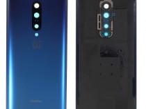 OEM Capac Sticla Albastru / Negru pentru OnePlus 7 Pro