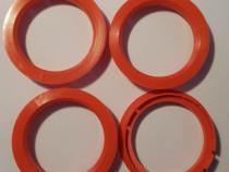 Set inele de centrare ghidaj jante noi 70-58.1 mm Alfa Romeo
