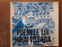 Poemele lui Mihai Viteazul - Dumitru Stancu, autograf