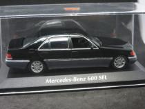 Macheta Mercedes 600 SEL Maxichamps 1:43