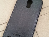 Husa flip piele pentru telefon Samsung Galaxy S4 mini