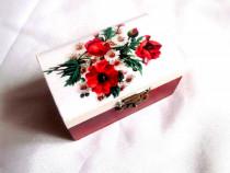 Cutie din lemn decorata 38268