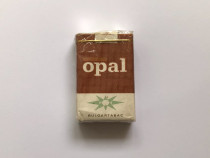 RAR! Pachet de tigari vechi colectie Opal Bulgartabac BT bul