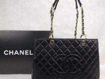Genti Chanel Maxy new model accesorii metalice aurii