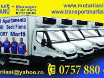 Transport marfa si mutari mobila