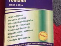 Limba si literatura romana clasa a 9-a editura carminis