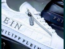 Adidași Phillip Plein import Italia,logo argintiu