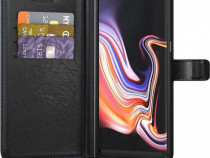 Husa Telefon Wallet Case Samsung Galaxy Note 9 n960 Black