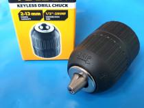 Mandrina pentru bormasina (0.8 - 10mm) si (2-13 mm) - tolsen