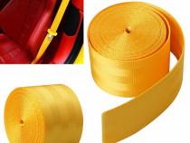 Rola Pentru Centura Auto Material Galben