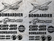 Set Stickere autocolante Atv Quad Can-am Bombardier