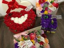 Aranjamente florale-cadouri la comanda