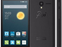 Husa Telefon Silicon Alcatel Pixi 3 Black PRODUS NOU