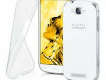 Husa telefon Silicon Alcatel Pop C7 Clear PRODUS NOU