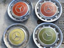 Capace roata inox Mercedes de colectie