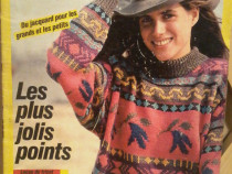 Revista Sandra, nr. 66, ian. 1990 . Revista de tricotaje