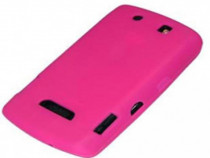 Husa Telefon Silicon Blackberry 9500 pink PRODUS NOU