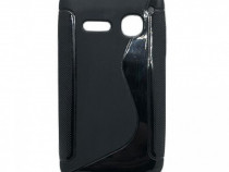 Husa telefon Silicon Alcatel Spop ot4030 black s-line