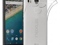 Husa telefon silicon lg nexus 5x clear ultra thin produs nou