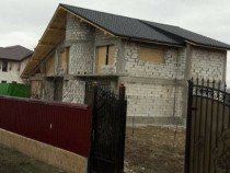 Teren 1600mp + vila la rosu Catamaresti Deal, Botosani