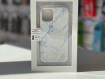 Husa Guess iPhone 12 Mini Colectia Marble-Alb