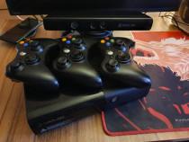 Xbox 360 cu Kinect si 27 de jocuri.