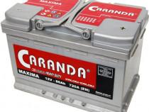 Baterie auto 12V 80Ah 730A CARANDA MAXIMA